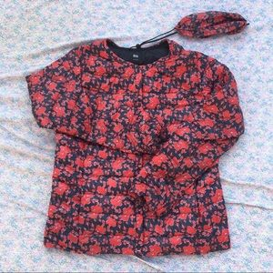 FLORAL DOWN PUFFER